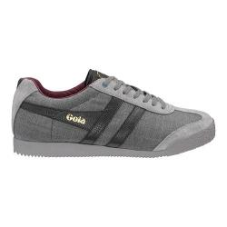Men's Gola Harrier Savile Row Casual Sneaker Grey/Check Textile