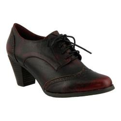 Women's L'Artiste by Spring Step Ennia Lace Up Oxford Bordeaux Leather