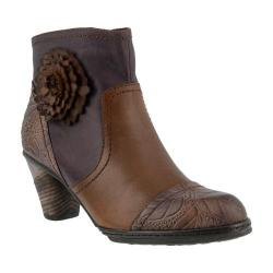 Women's L'Artiste by Spring Step Neske Bootie Brown Multi Leather
