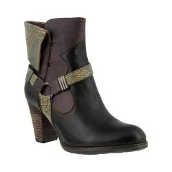 Women's L'Artiste by Spring Step Rikeet Boot Black Multi Leather