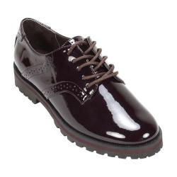 Women's White Mountain Gilly Oxford Plum Patent