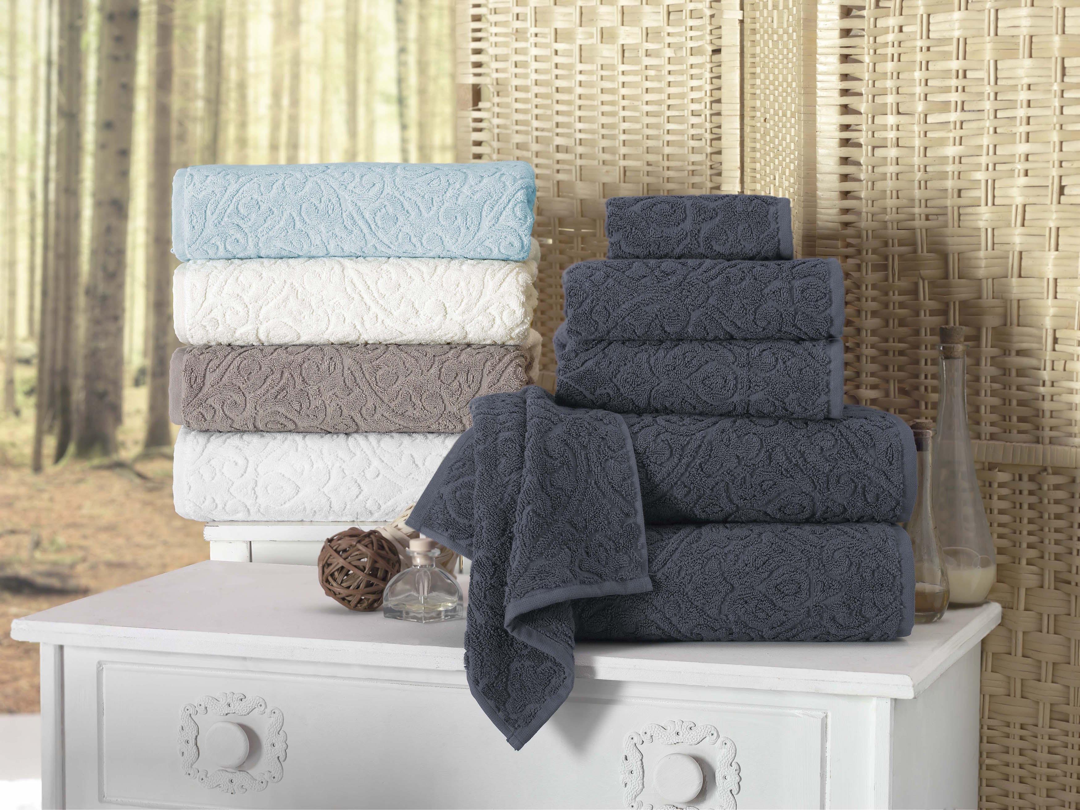 Duane Quick-dry Turkish Cotton Towel (Set of 4)