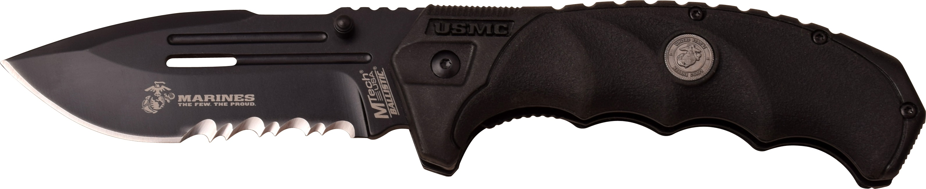U.S. Marine Corps Stainless Steel Assisted-opening Warden Knife