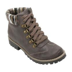 Women's Cliffs by White Mountain Portsmouth Trail Sweater Knit Hiker Boot Dark Stone/Multi Fabric/Textile/Sweater