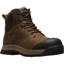 Men's Dr. Martens Deluge Waterproof EH Safety Toe 6 Eye Boot Brown Overlord Waterproof