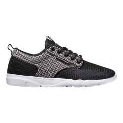 Men's DVS Premier 2.0 Sneaker Black/White Chevron Mesh