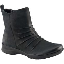 Women's Earth Treasure Slouchy Ankle Boot Black Vintage Leather