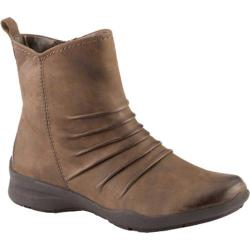 Women's Earth Treasure Slouchy Ankle Boot Stone Vintage Leather