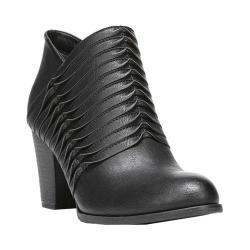 Women's Fergalicious Calhoun Bootie Black Synthetic Leather