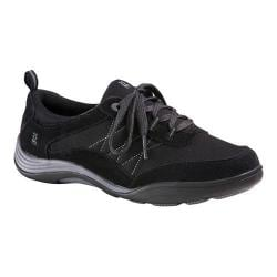Women's Grasshoppers Explore Lace Sneaker Black Suede/Canvas