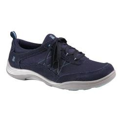 Women's Grasshoppers Explore Lace Sneaker Navy Suede/Canvas