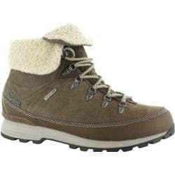 Women's Hi-Tec Kono Espresso I Waterproof Boot Hot Brown/Stone Suede