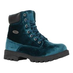 Women's Lugz Empire HI VT Work Boot Teal/Black Velvet