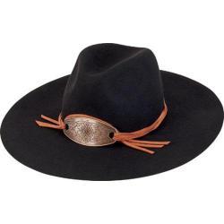 Women's San Diego Hat Company Wool Felt Fedora WFH8026 Black