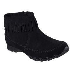 Women's Skechers Relaxed Fit Bikers Indian Summer Ankle Boot Black