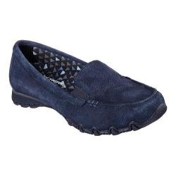 Women's Skechers Relaxed Fit Bikers Roamer Loafer Navy