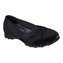 Women's Skechers Relaxed Fit Bikers Satine Loafer Black