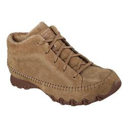 Women's Skechers Relaxed Fit Bikers Totem Pole Brown