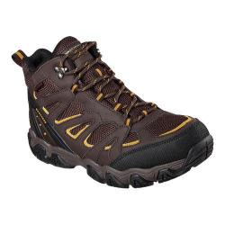 Men's Skechers Relaxed Fit Blais Celek Hiking Boot Chocolate