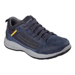 Men's Skechers Relaxed Fit Bursen Hecton Sneaker Navy