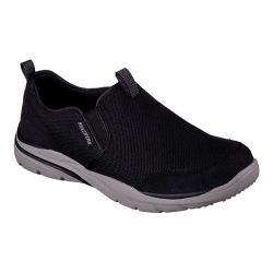 Men's Skechers Relaxed Fit Corven Horst Slip On Black