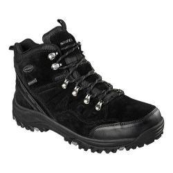 Men's Skechers Relaxed Fit Relment Pelmo Hiking Boot Black
