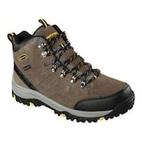 Men's Skechers Relaxed Fit Relment Pelmo Hiking Boot Khaki