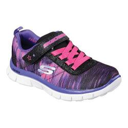Girls' Skechers Skech Appeal Pesky Pal Sneaker Black/Purple/Pink