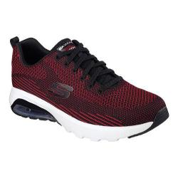 Men's Skechers Skech-Air Varsity Training Shoe Black/Red