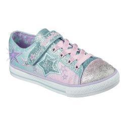 Girls' Skechers Twinkle Wishes Enchanters Sneaker Blue/Blue/Pink