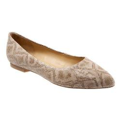 Women's Trotters Estee Nude Snake Leather