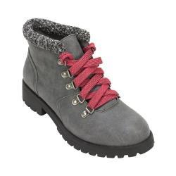 Women's White Mountain Paxon Ankle Boot Grey Fabric