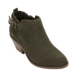 Women's White Mountain Sadie Bootie Olive Suede
