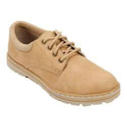 Women's Cliffs by White Mountain Kennesaw Lug Sole Oxford Wheat Textile/Sueded Smooth