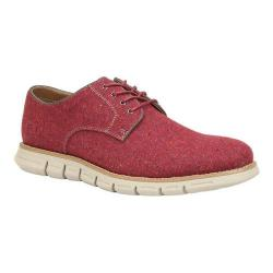 Men's GBX Hack Plain Toe Red Fabric