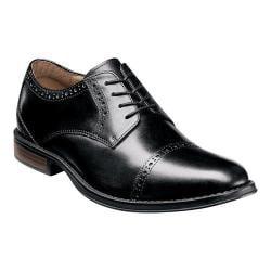 Men's Nunn Bush Ridley Cap Toe Oxford Black Leather