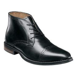 Men's Nunn Bush Robinson Chukka Boot Black Leather