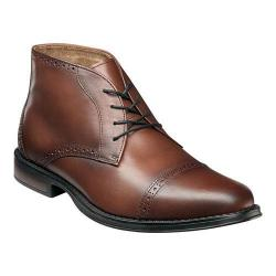 Men's Nunn Bush Robinson Chukka Boot Chestnut Leather