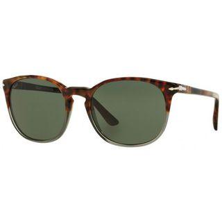 Persol PO3007/S-102331(53) Round Green Sunglasses