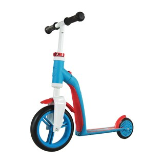Schylling Scoot & Ride Highway Blue/Red Push Bike/Scooter