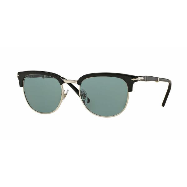 830997c08b Shop Persol PO3132S-95 4N(51) Round Polarized Photo Blue Sunglasses - Free  Shipping Today - Overstock.com - 12500059