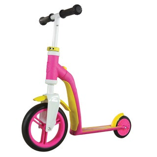Schylling Scoot & Ride Highway Baby Pink/Yellow Ride-on Scooter