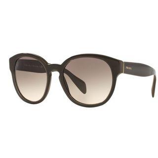 Prada PR18RS-UAM4K0 Round Pink Gradient Grey Sunglasses