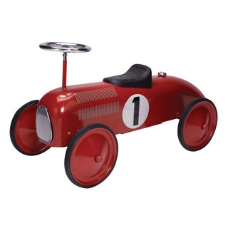Schylling Speedster Red Race Car Ride-On