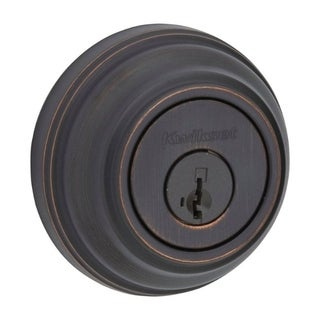Kwikset Signature Series 99800-089 Venetian Bronze SmartKeySingle Cylinder Deadbolt