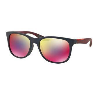 Prada Sport PS03OS-UBX9Q1 Sport Dark Grey Mirror Blue Red Sunglasses
