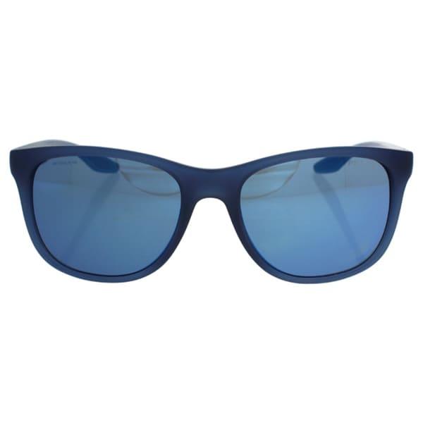 143f5b27638d Shop Prada Sport PS03OS-JAP9P1 Sport Blue Mirror Sunglasses - Free ...