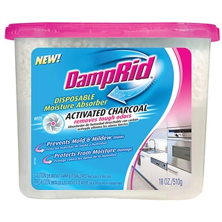 Damp Rid FG118 18 Oz Moisture Absorber With Activated Charcoal