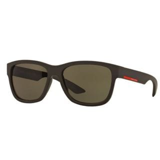 Prada Sport PS03QS-UB04J1 Sport Dark Green Sunglasses