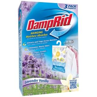 Damp Rid FG83LV Lavender & Vanilla Hanging Moisture Absorber 3 Count